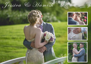 Wedding Collage Example